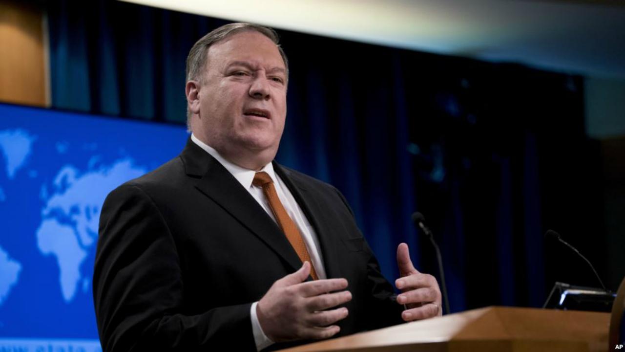 """El jefe de la diplomacia estadounidense dijo que están """"trabajando para restaurar la estabilidad y la democracia"""" en la nación caribeña"""