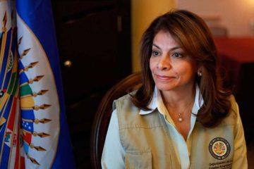 Laura Chinchilla, quien encabeza la misión de la OEA en elecciones brasileñas, garantizó el sistema electrónico de votación