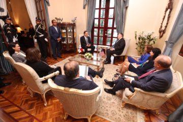 Pompeo y Valera abordaron problemas migratorios de Venezuela y Nicaragua