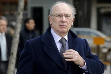 Rodrigo Rato, deberá ir a prisión durante cuatro años y medio, por el cargo de apropiación indebida