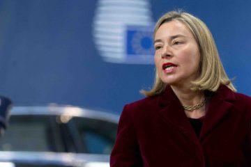 Federica Mogherini aseguró que la política de sanciones individualizadas a personalidades del Gobierno de Nicolás Maduro continuará