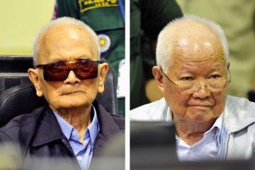Dos líderes de los Jemeres Rojos, condenados por genocidio