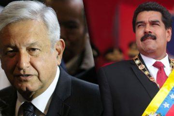 Presidente electo López Obrador invita a Maduro para su toma de posesión