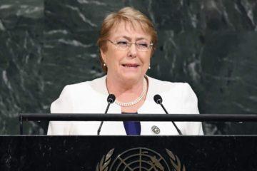 La alta comisionada de las Naciones Unidas para los Derechos Humanos expresó que evaluará las condiciones para hacer un análisis imparcial de la situación