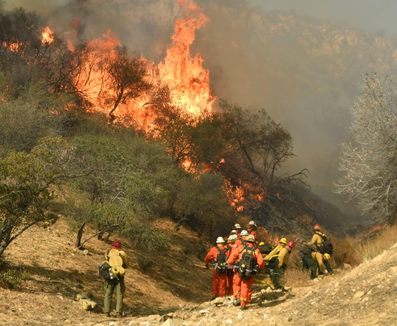 Sube a 44 la cifra de muertos por incendios en California