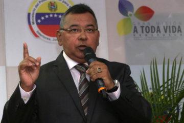 El ministro para Relaciones Interiores, Justicia y Paz, refirió que hasta ahora van 602 personas capturadas