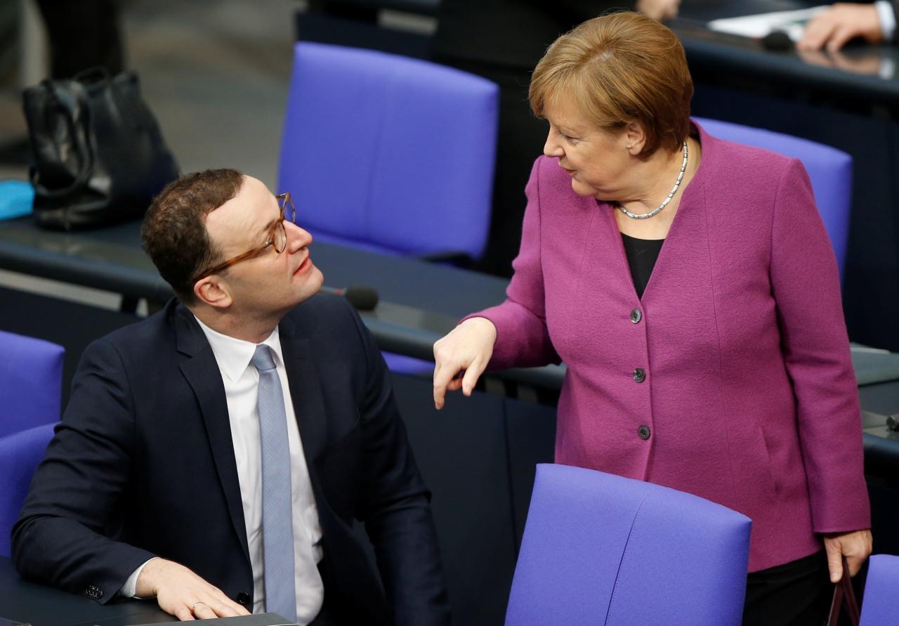 Ministro de Alemania oficializa su candidatura para la Unión Cristianodemócrata