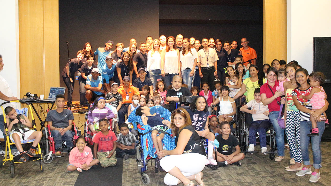 Todas las actividades se llevaron a cabo mediante diversas donaciones y aportes del club