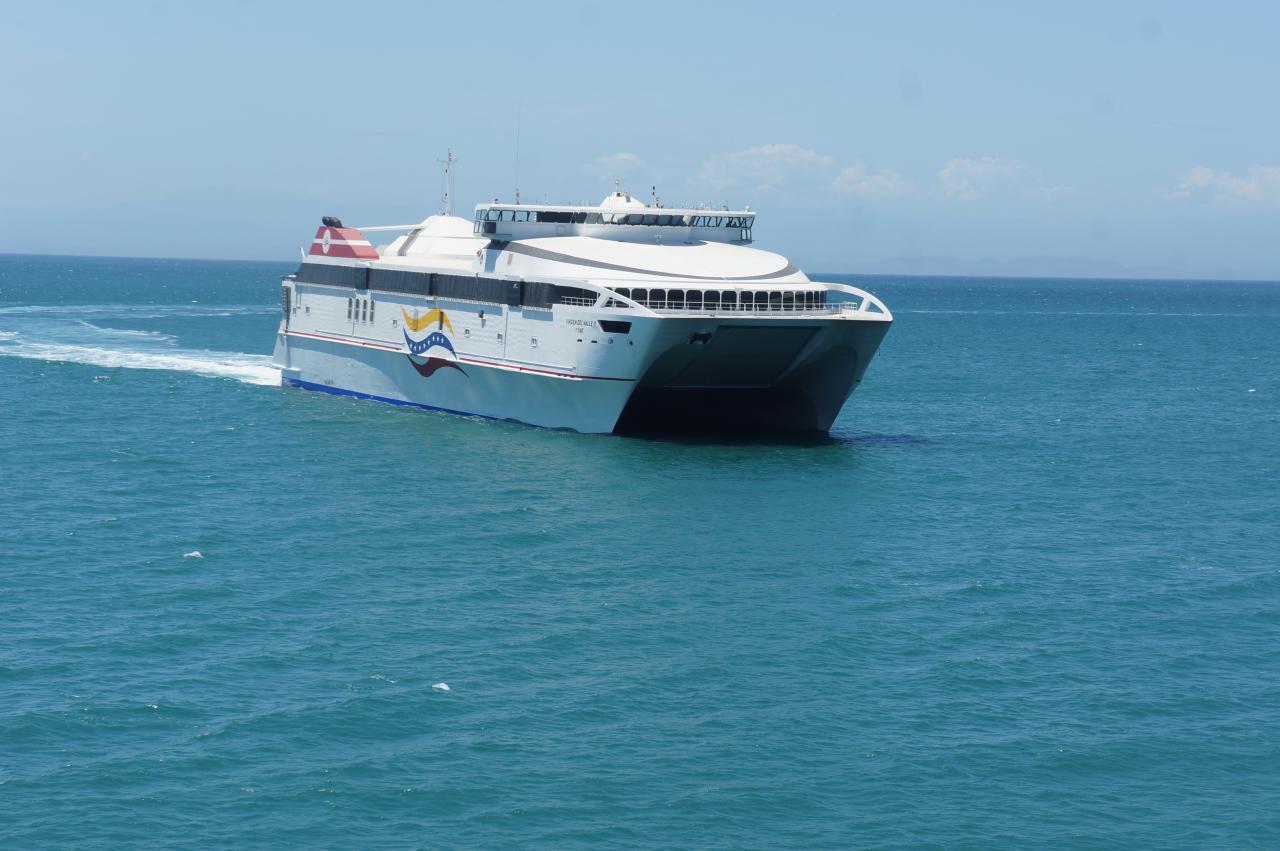 Gobierno nacional coloca en funcionamiento ferry Virgen del El Valle II
