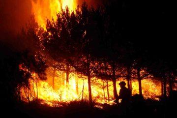 Los bomberos ya tienen controlado el fuego, por lo que cientos de personas que habían sido evacuadas han regresado a sus hogares
