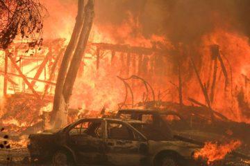 Aumenta a 31 los muertos por los incendios forestales en California