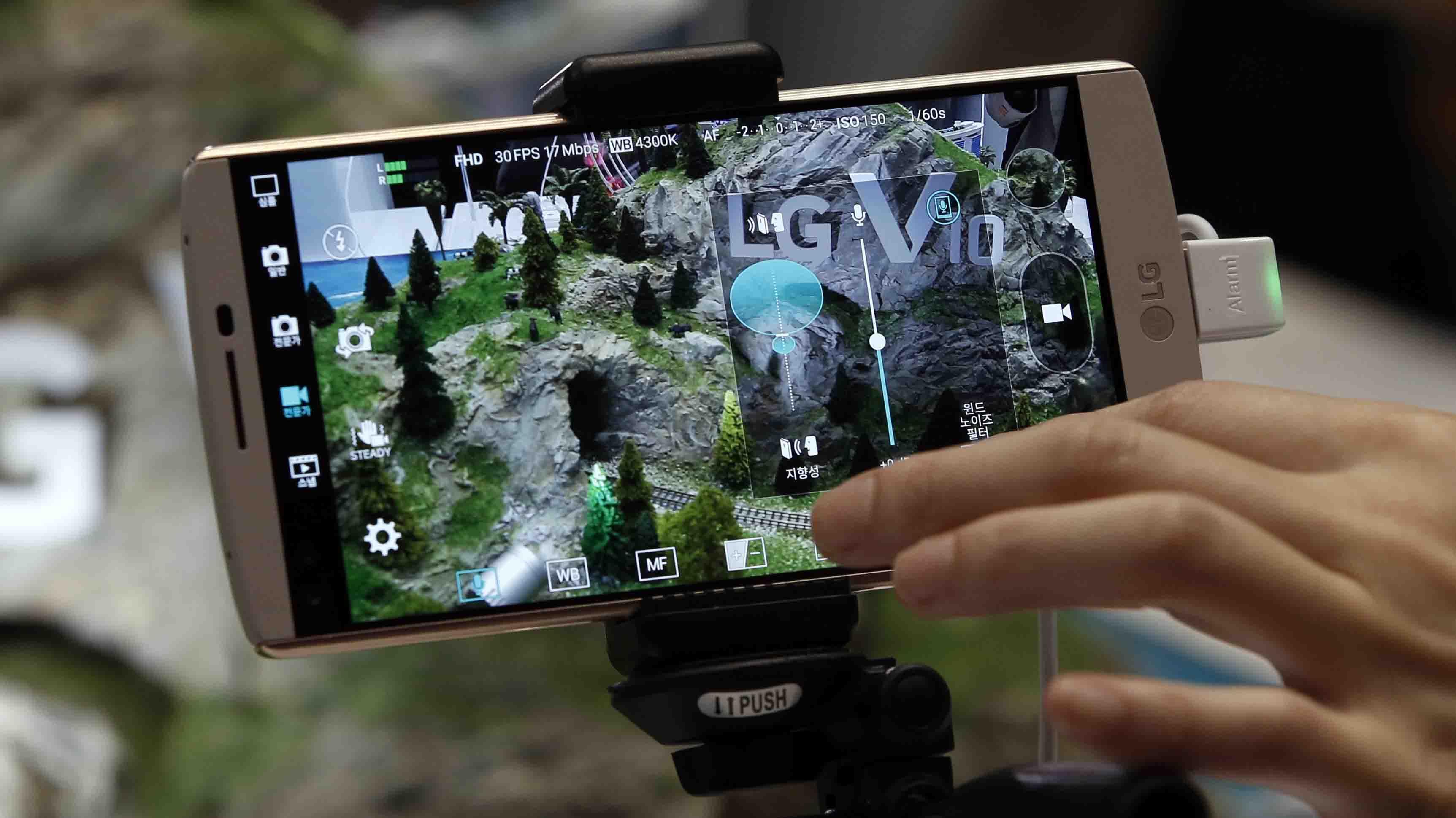 Varios escenarios fotográficos permiten al usuario elegir un objetivo específico para tomar una imagen, de acuerdo a la empresa