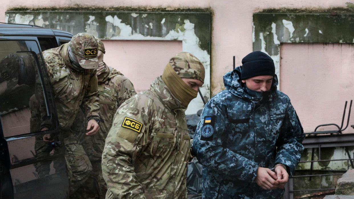 En caso de ser juzgados en Rusia los supuestos agentes secretos de Ucrania podrían ser condenados a seis años de prisión