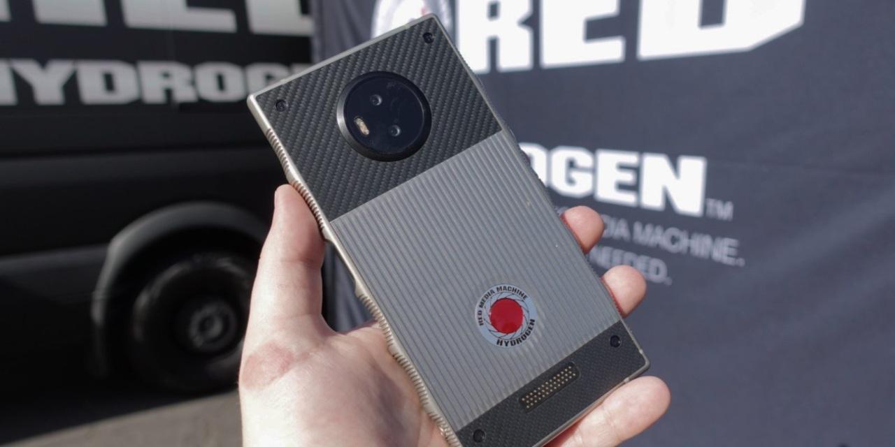 Conoce el Hydrogen One, el primer teléfono con pantalla holográfica