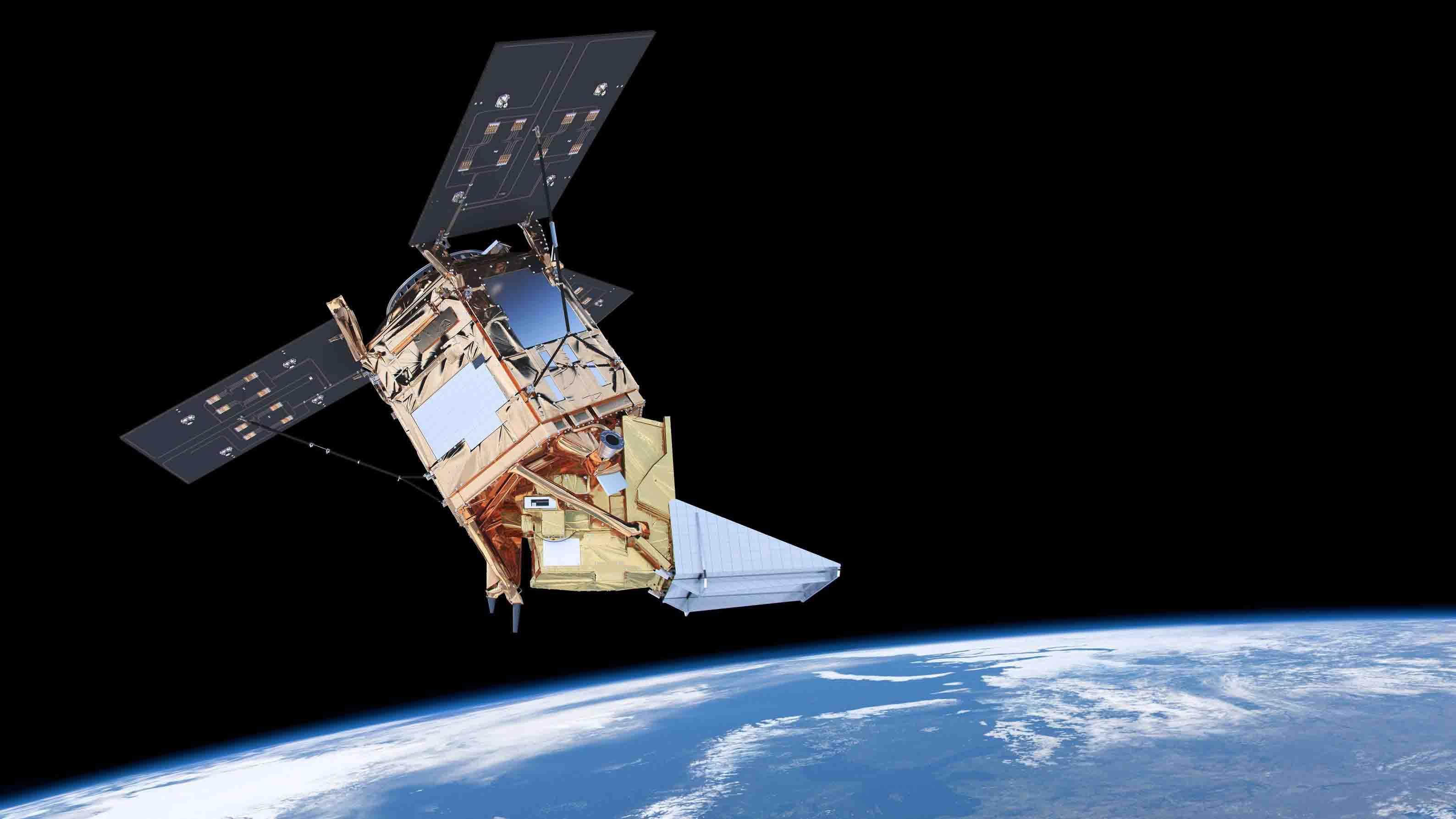 En el espacio se situará a unos 500 kilómetros de altitud en una órbita polar que pasará sobre esa nación cuatro veces al día