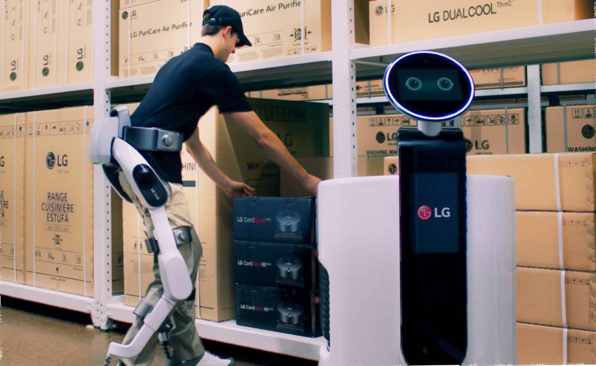 LG dará a conocer las nuevas versiones del exoesqueleto CLOi SuitBot