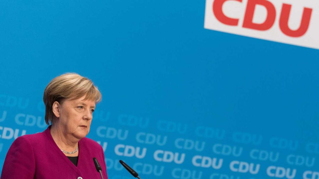 Angela Merkel se despide de la UniónCristianodemócrata tras 18 años de gestión