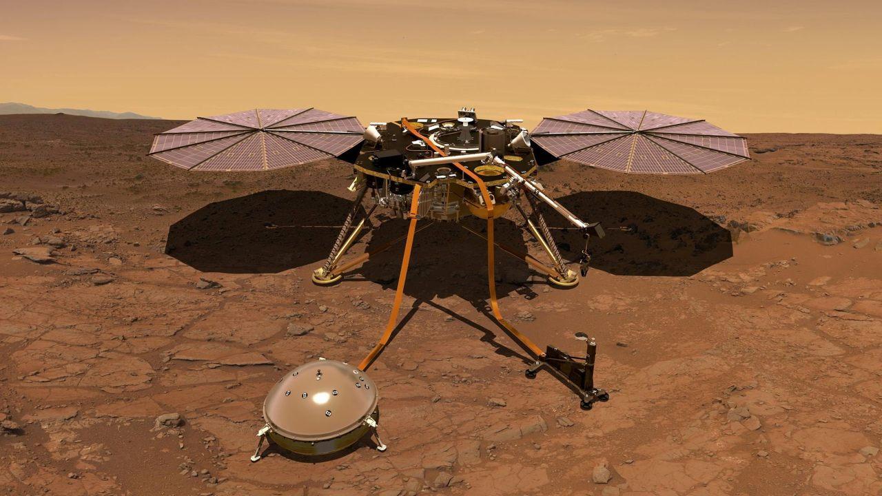 El astromóvil Curiosity será el encargado de estudiar la composición de la roca marciana mediante un análisis químico