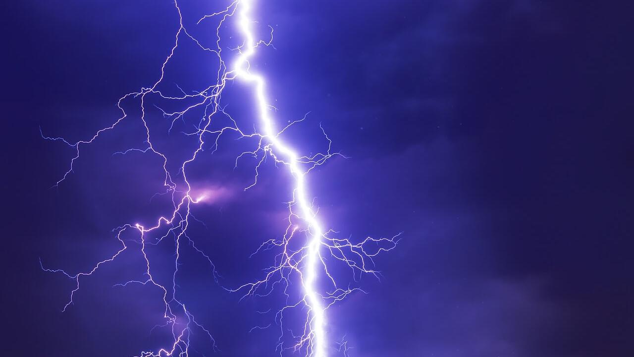 Una descarga eléctrica impactó directamente en un árbol afectando a tres individuos en situación de calle
