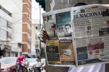 Diario El Nacional publicó su última edición impresa