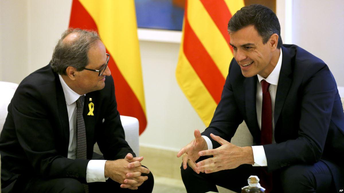 Sánchez y el presidente regional de Cataluña se reunirían en Barcelona