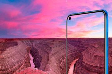 Huawei View 20, primer smartphone con una cámara incrustada en la pantalla