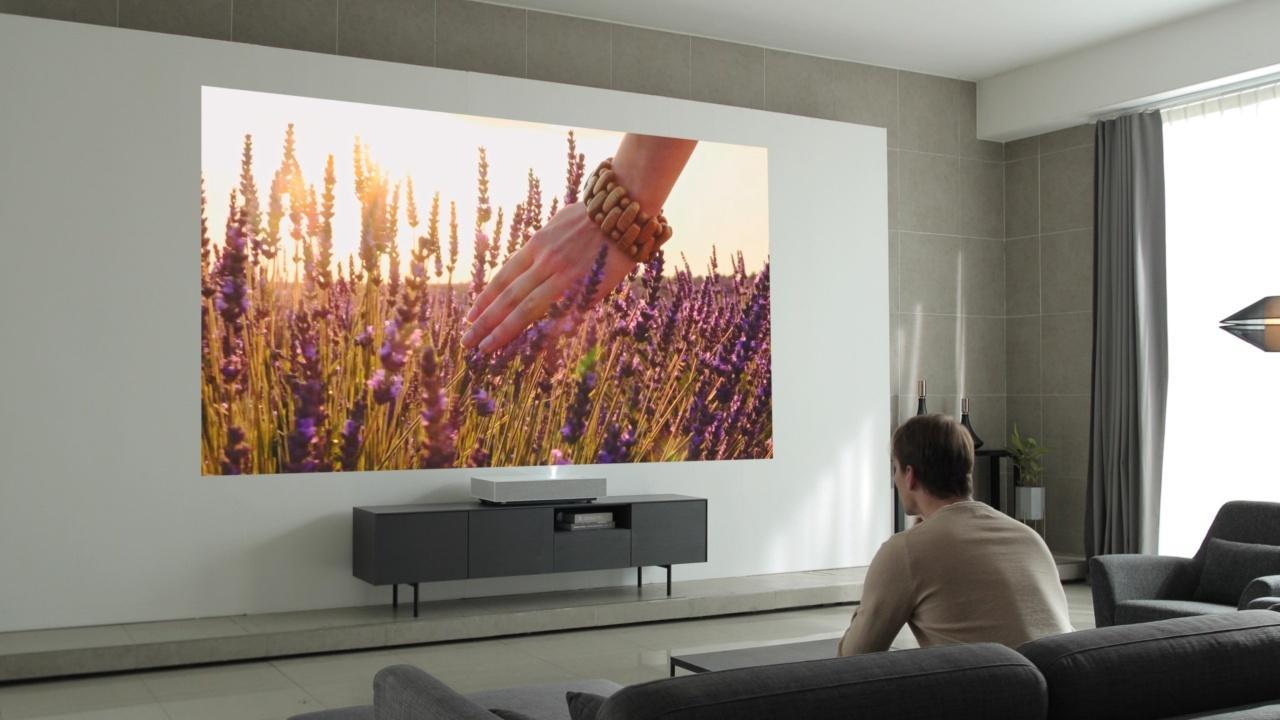 LG anuncia su nuevo proyector Smart laser 4K