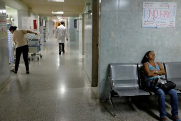 OMS: Venezuela ha reducido la capacidad de atención médica entre un 15 y 20%