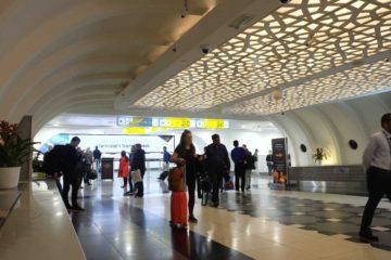 Cada día unas 8 mil personas atravesarán el pasaje de una superficie de 16 metros cuadrados y que une las terminales uno y tres de la terminal aérea