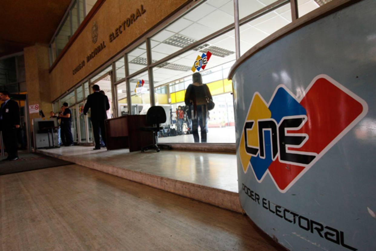 CNE presentó herradura electoral para las elecciones municipales