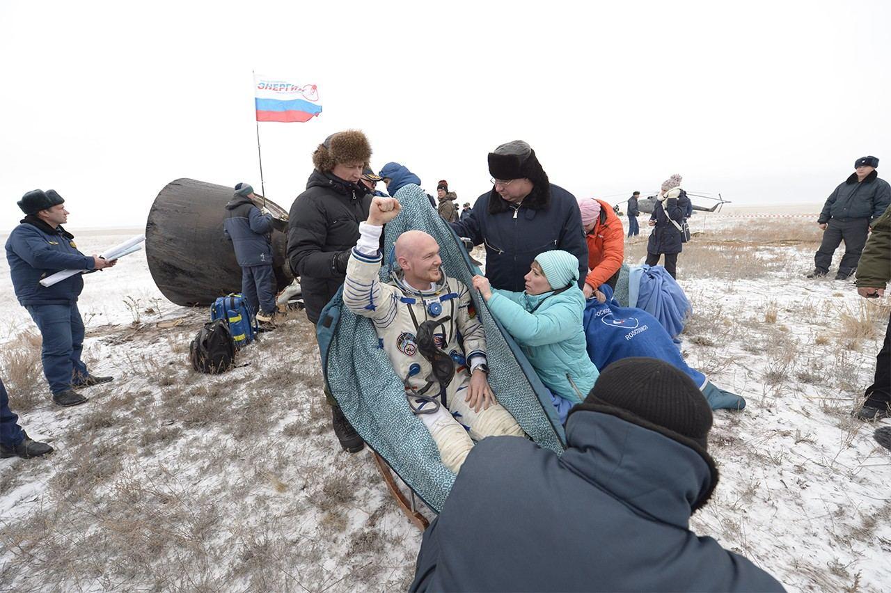 Astronauta Alexander Gerst retornó a la Tierra tras pasar más de seis meses en la ISS