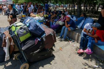 ONU: A finales de 2019 casi 5,4 millones de venezolanos vivirán en los países vecinos