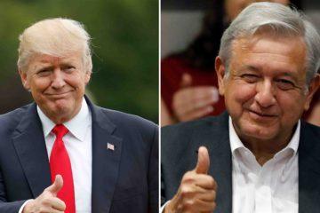 El mandatario estadounidense afirmó que los gastos del muro fronterizo se cubren ya con el dinero que su país se está ahorrando con el renegociado T-MEC
