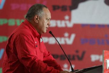 El primer vicepresidente del PSUV comentó que el apagón registrado en el país se dio por factores externos e internos
