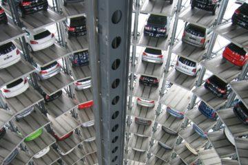 La infraestructura tendrá una capacidad para resguardar 114 vehículos