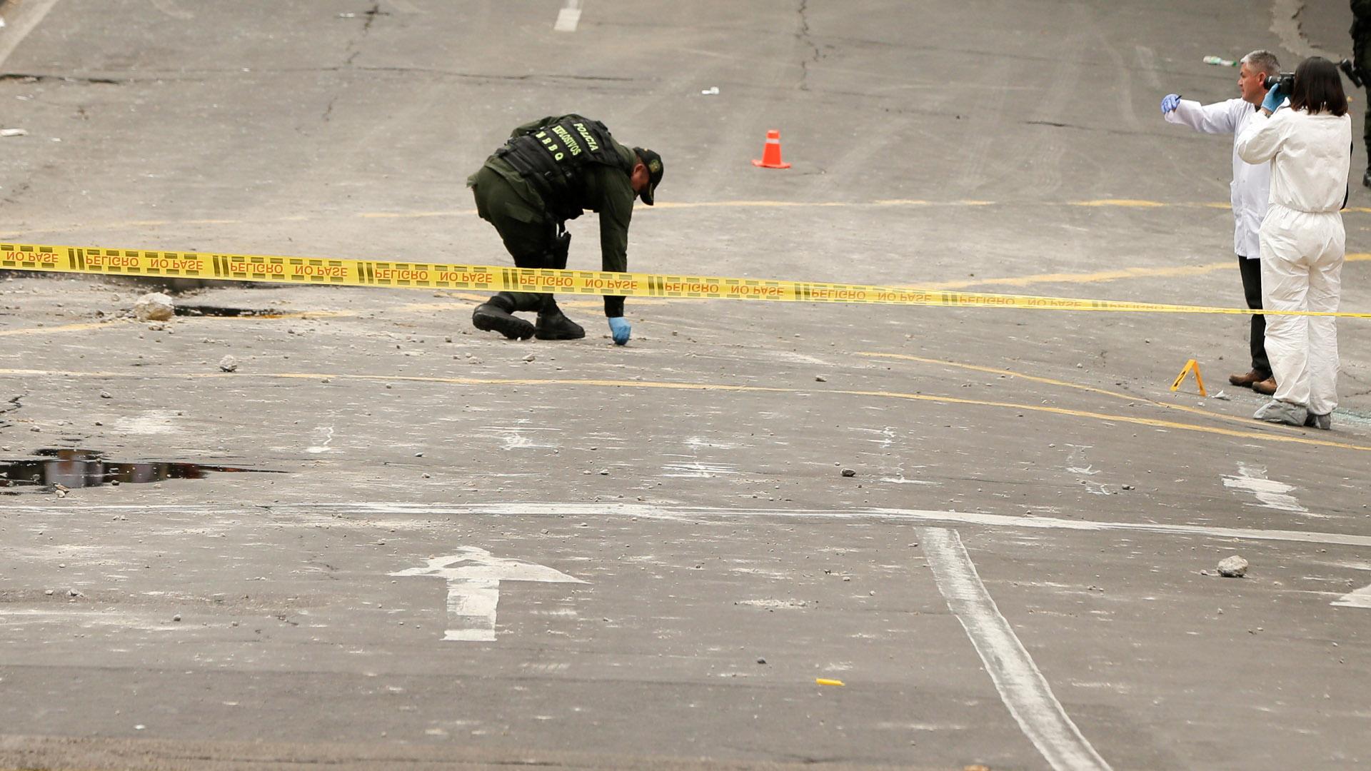 El Ministerio de Defensa calificó el hecho como un atentado terrorista