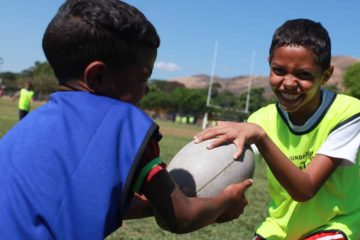 La fundación busca desarrollar el potencial deportivo de los niños y adolescentes