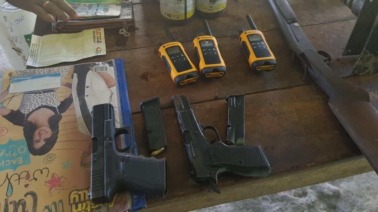 En la instalación clandestina se producían municiones para vendérselas a las bandas delictivas