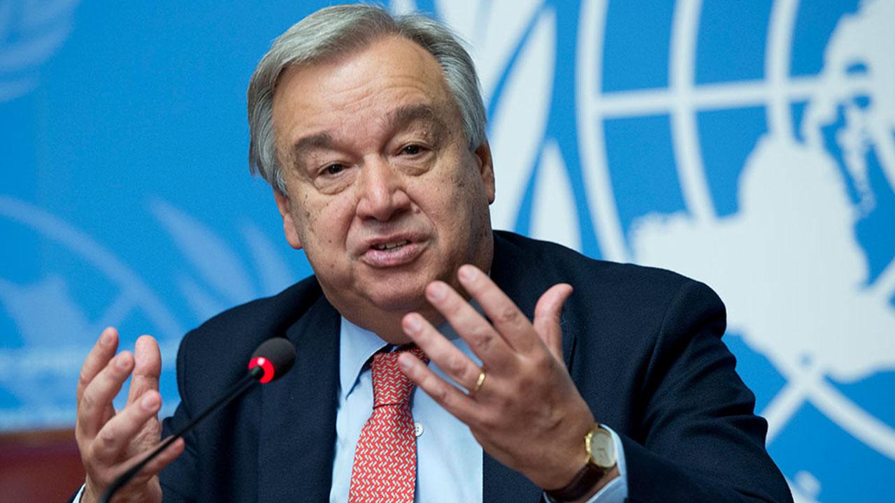 Antonio Guterres apela a las partes a evitar la violencia en el país