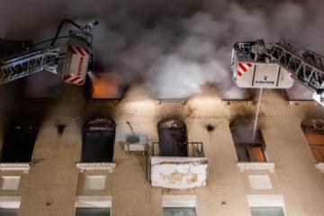 Se debió evacuar a más de 40 inquilinos del inmueble, ubicado en la prestigiosa avenida Nikitski