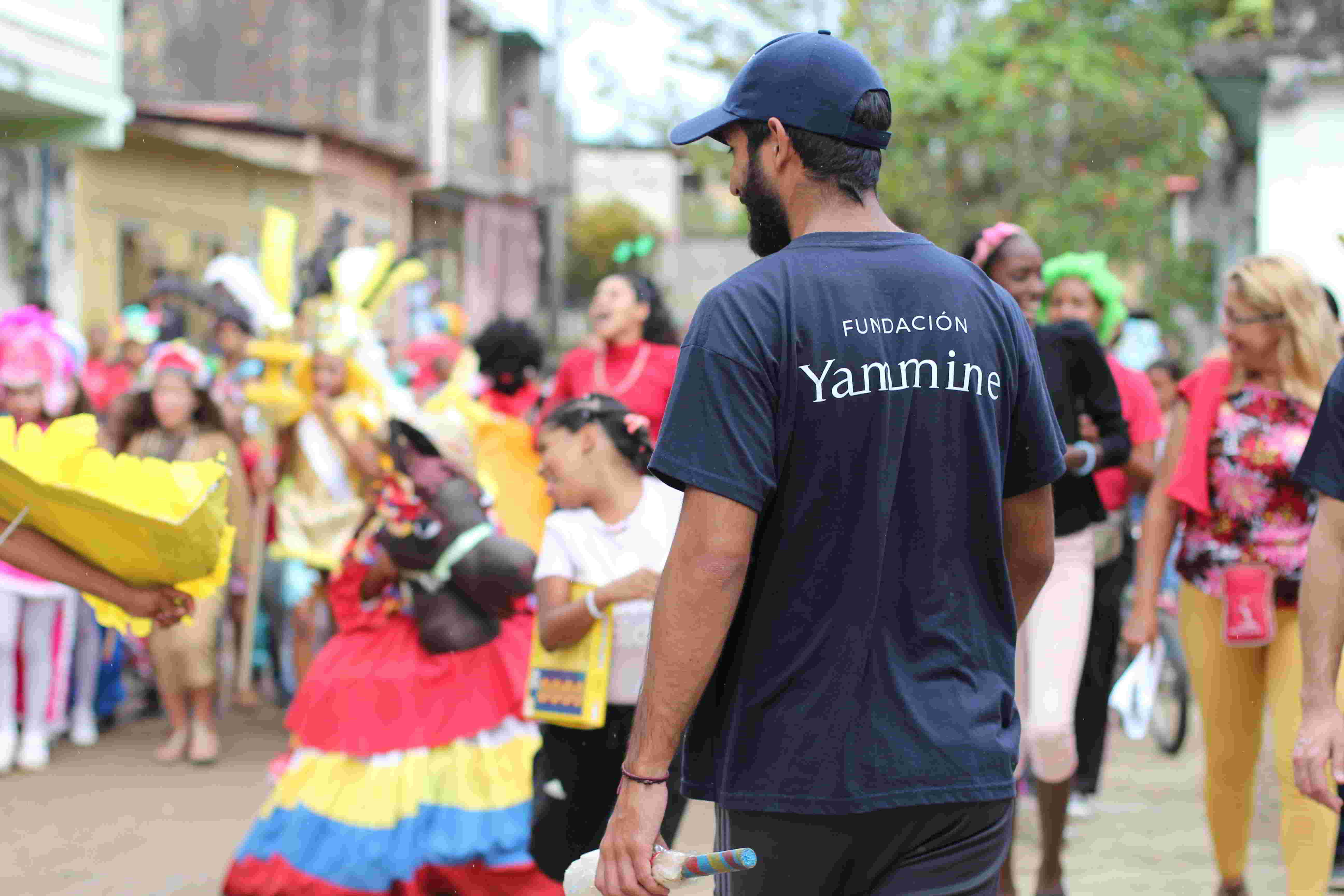 Los niños de Chuspa disfrutaron su carnaval con el respaldo de la Fundación Yammine