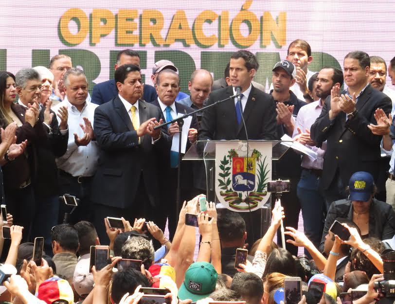 Guaidó convoca nuevas protestas por apagones y hacia toma de Caracas