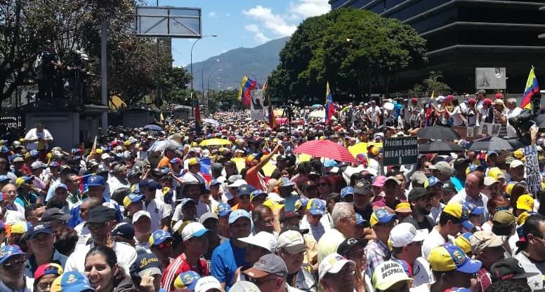 Juan Guaidó: Venezuela no tiene miedo y sigue en las calles hasta lograr su libertad