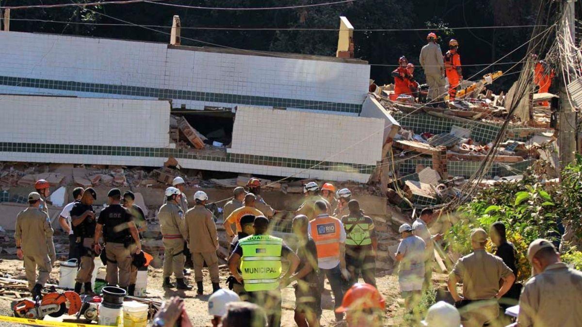 Este martes se registró el deceso lamentable de 15 personas producto del desplome de dos edificios