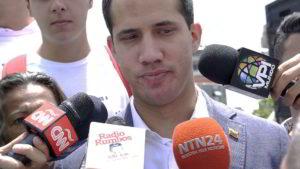 Guaidó tuvo palabras de reconocimiento y solidaridad para con todos los presos políticos y llamó a trabajar también por su liberación