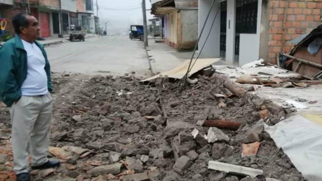 DOBLE LLAVE - El Instituto Geofísico del Perú destacó que el terremoto fue cerca de Lagunas, con el hipocentro ubicado a 141 kilómetros de profundidad