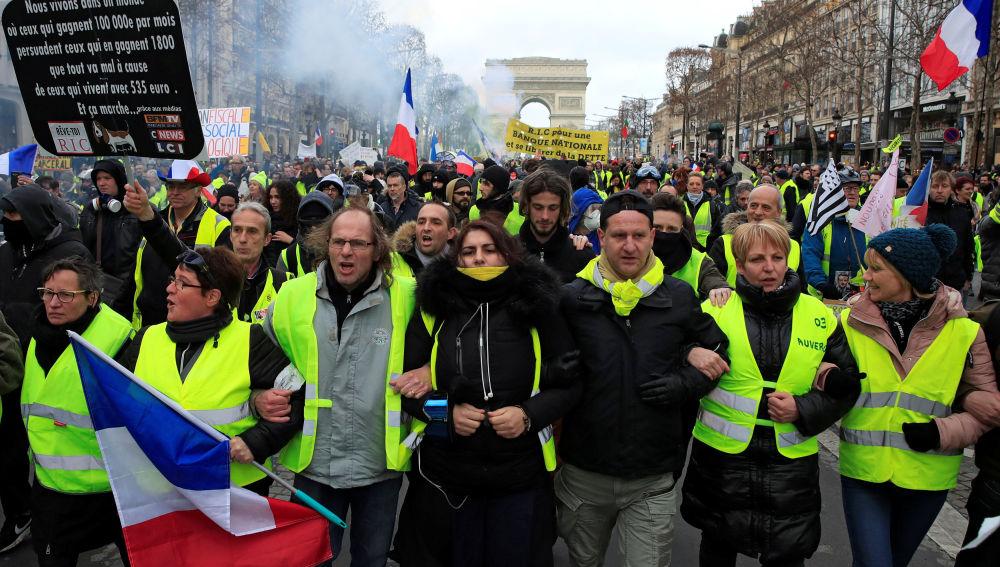 En Montpellier, epicentro de la convocatoria de la jornada del sábado, se reunieron más de 2.000 manifestantes, según la Policía