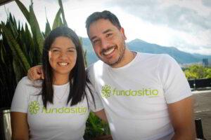 Rafael Núñez y Douglimar Rojas de Fundasitio: 5 años en pro del bienestar social de muchos