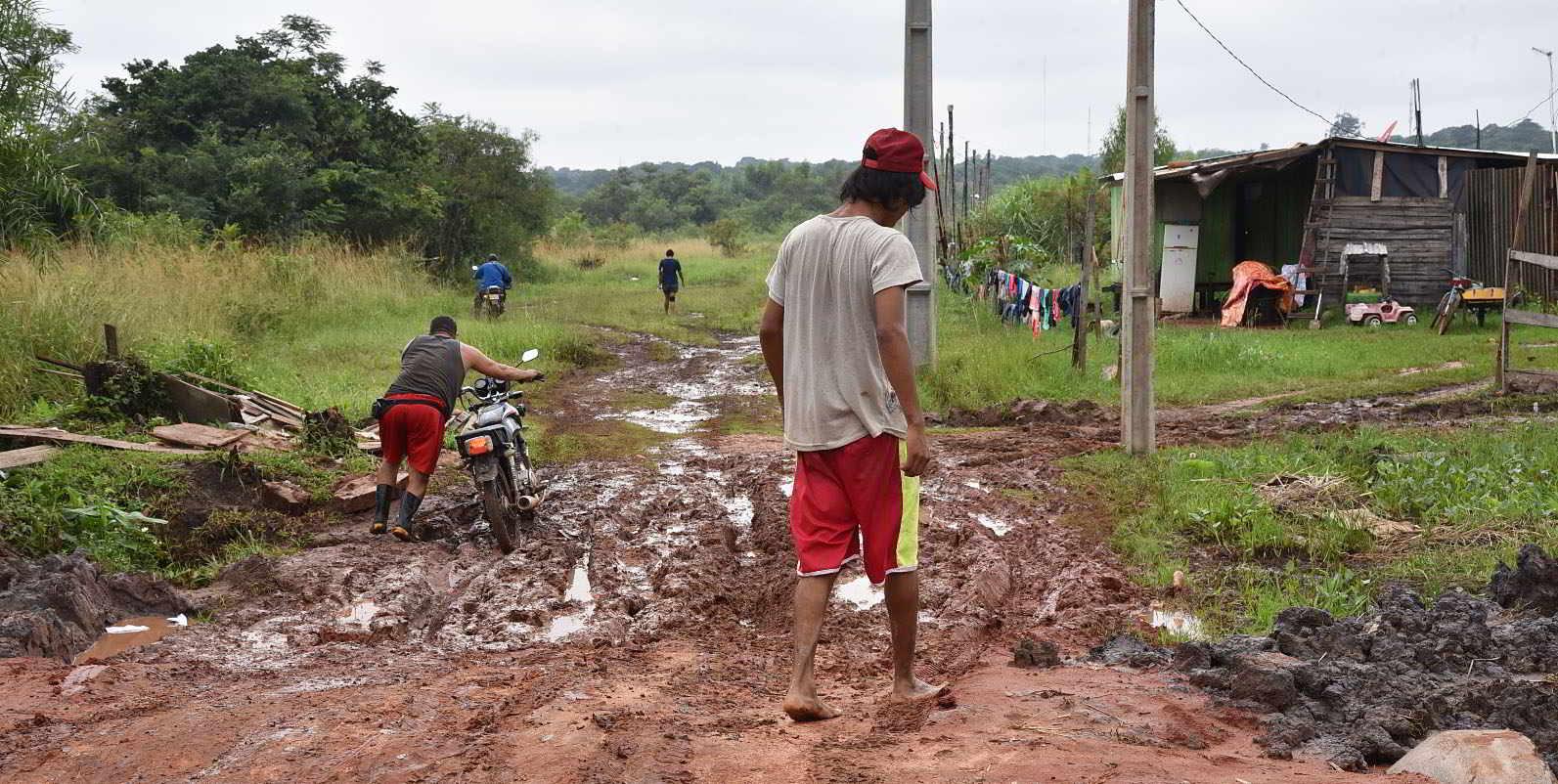 Crisis agropecuaria. Pobreza en el campo