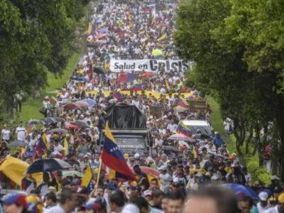 #16Nov: Venezuela despierta, protesta contra el fascismo y pide elecciones